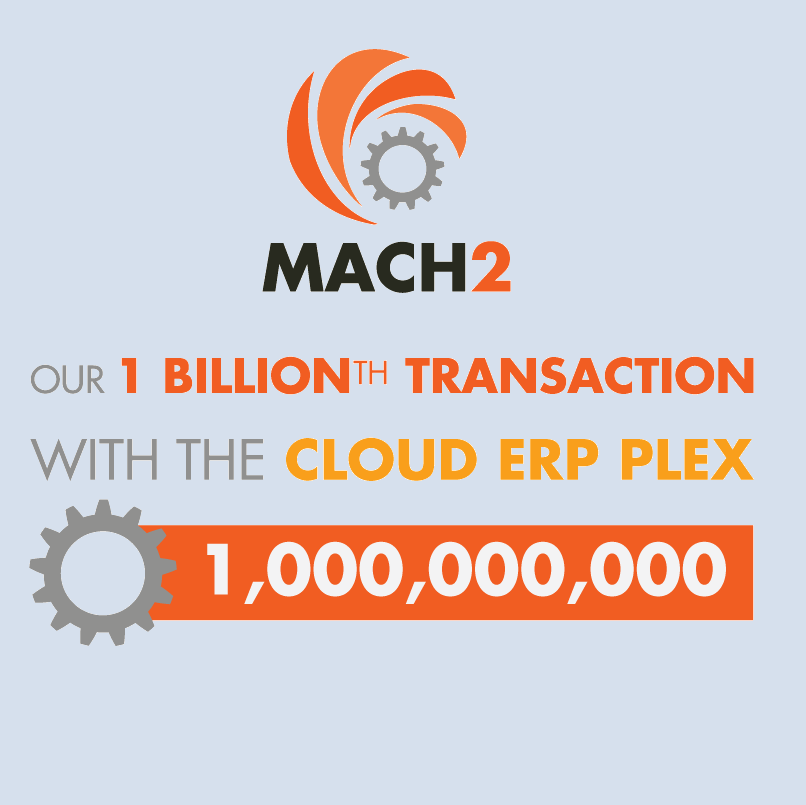 1 Billionth Transaction With Cloud ERP