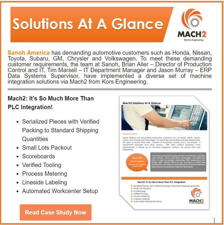 Mach2: It's So Much More Than PLC Integration!