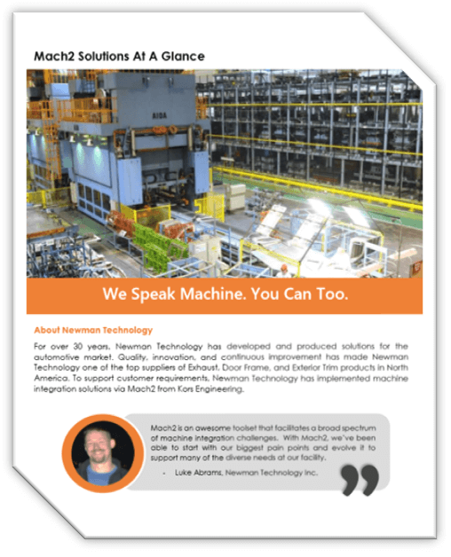Customer Case Study – Newman Technology Inc