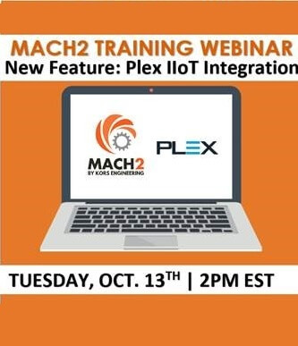 Webinar: Mach2's Integration Into Plex IIoT